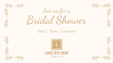 Bridal Shower Facebook event cover
