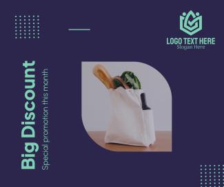 Bag Discount Facebook post