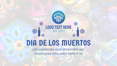 Dia De Muertos Facebook event cover