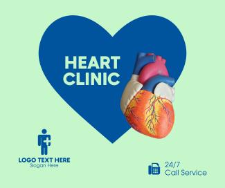 Heart Clinic Facebook post