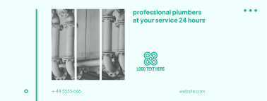 Plumbers 24 Hours Facebook cover