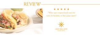 Vegan Food Review Facebook cover