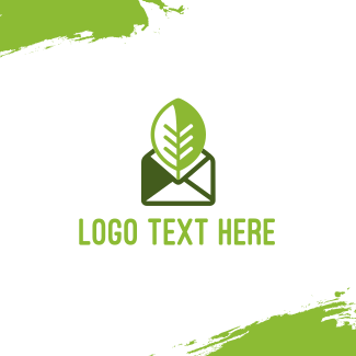 Eco Mail Message Business Card