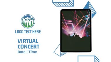Virtual Concert Invitation Facebook event cover