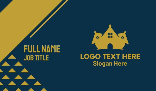 orphanage - Real Estate Crown Business card horizontal design