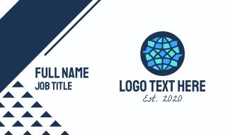 Global Crystal Gem Company Business Card