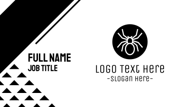 Spider Circle Business Card