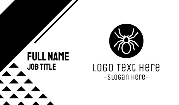 spider - Spider Circle Business card horizontal design
