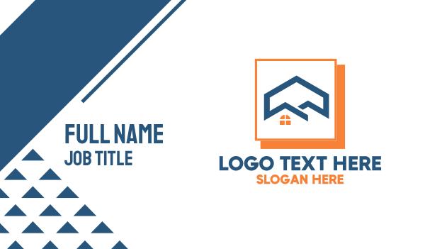 home developer - Home Construction Development  Business card horizontal design