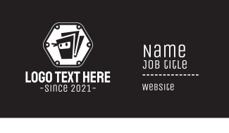 Ninja Box Badge Business Card
