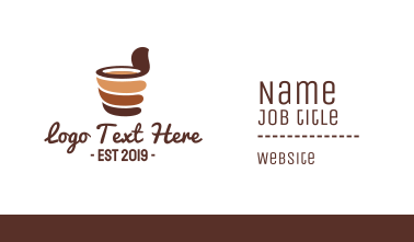 Chocolate Drink Business Card