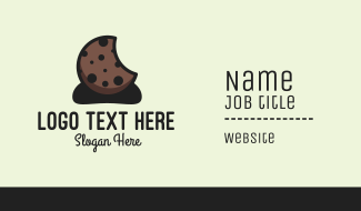Choco Chip Cookie  Business Card