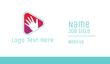 Handy Media Player Business Card