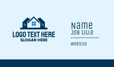 House Neighborhood Property  Business Card