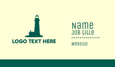 Green Lighthouse Business Card