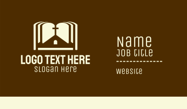 Holy Bible Chapel  Business Card