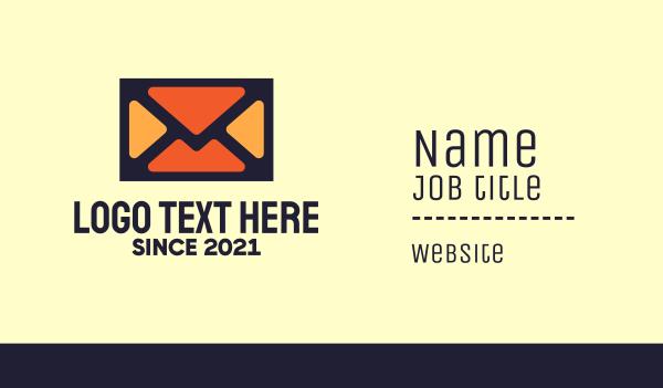 mailing - Penpal Envelope Business card horizontal design