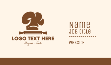 Brown Bakery Store Business Card