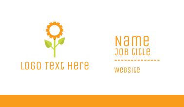 Gear Flower Business Card
