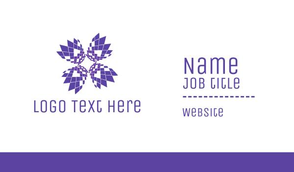 Pixel Bloom Business Card
