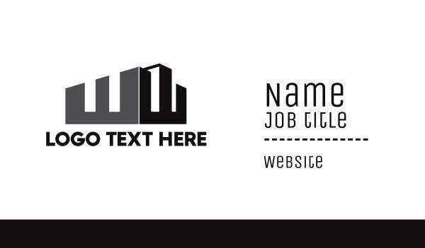 development - Silhouette WW Business card horizontal design