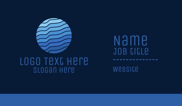 Blue Wave Planet Business Card