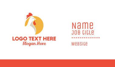 Chicken Circle Business Card