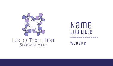 Berry Frame Business Card