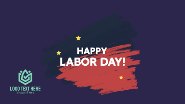 Labor Day Chalk Facebook event cover