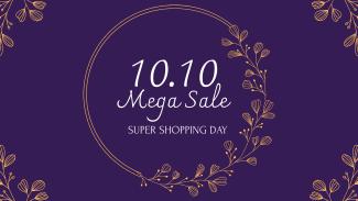 10.10 Floral Sale Facebook Event Cover
