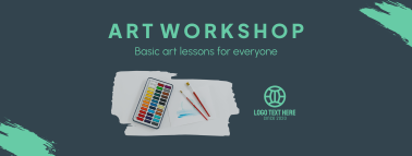 Art Class Workshop Facebook cover