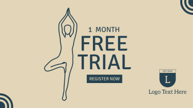 One Month Free Facebook event cover