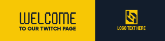 Simple and Generic Twitch banner