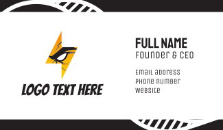 Furious Thunder Business Card