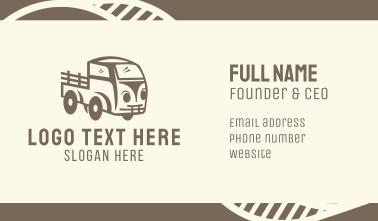Old Farm Truck Business Card