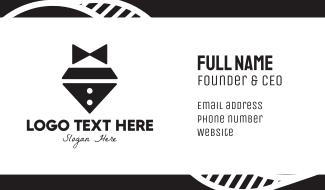 Diamond Bow Tie Business Card
