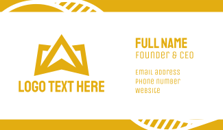Gold Crown Mountain Business Card