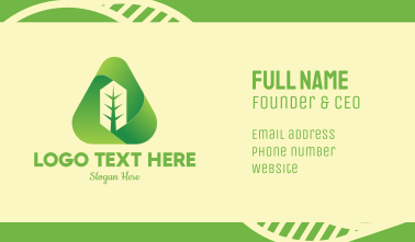 Green Tree Care Business Card