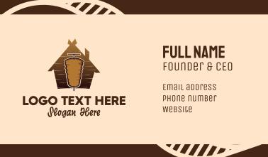 Doner Kebab Restaurant  Business Card