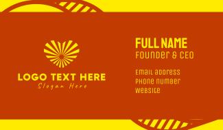 Sunny Love Business Card