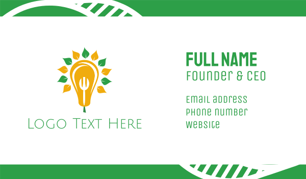pear - Smart Pear Business card horizontal design