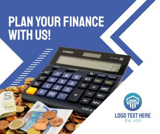 Savings Calculator Facebook post