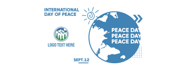 International Day Of Peace Facebook cover