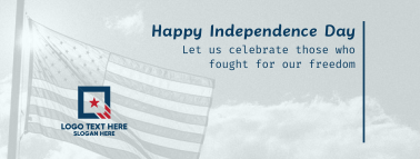 Celebrate 4th of July Facebook cover