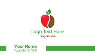 Apple Bean Business Card