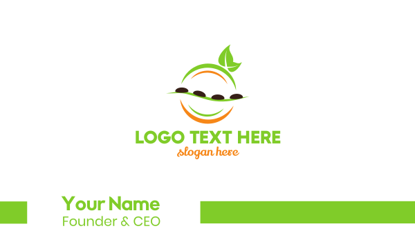 chill - Stone Massage Business card horizontal design
