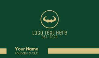 Elegant Bow Tie Business Card