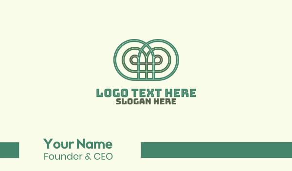 decoration - Wrought Iron Decoration Business card horizontal design