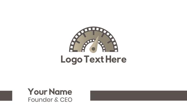 reel - Flimstrip Meter Business card horizontal design