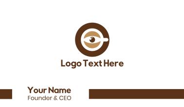 Coffee Eye Business Card